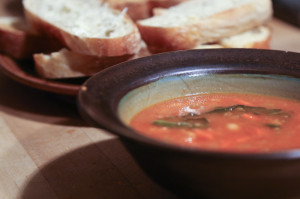 Dinner Groups: soup